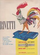 (pagine-pages)PUBBLICITA' RIVETTI  Epoca1959/444. - Libri, Riviste, Fumetti