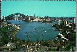 Sydney  -  Harbour Bridge And City  -  Ansichtskarte Ca.1972    (9598) - Sydney