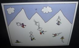 Carte Postale - Glencoe + Nevis Range (skieurs - Snowboard) - Werbepostkarten