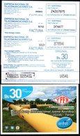 Bolivia 2014 - 31-03-2015 Tarjeta Prepago ENTEL. Gasoducto. Tres Tipos: Números Chicos, Medianos Y Grandes. - Olie