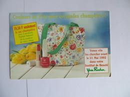CPM Publicté Yves Rocher Cosmetique Rouge à Lèvre Cadeau Fête Des Mères - 1992 . - Publicité
