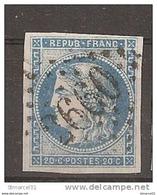 PRIX FIXE 1er SERVI N'AVOIR PLUS QUE LUI 1er CHOIX N°45C Valeur 70€ - 1870 Emission De Bordeaux