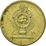 Monnaie, Sri Lanka, 5 Rupees, 1991, TTB, Nickel-brass, KM:148.2 - Sri Lanka
