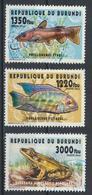 °°° BURUNDI - PESCI FISH POISSONS - 2014 °°° - 2010-..: Used