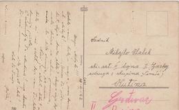 CRO1758  --  NDH  ~  PC SENT TO    SKI ~ SATNIJA  II. BOJNA I. GORSKOG ZDRUGA  ( SKUPINA  ,, SIMIC ,, )   ~  1943 - Croatie