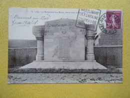 LIEZ. Le Monument Aux Morts De La Grande Guerre. - France