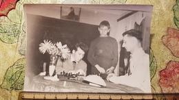 JEU - ECHECS - CHESS - ECHECS  Man Playing  - Old Soviet Photo 1960s - Schach