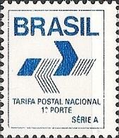 BRAZIL - DEFINITIVES POST OFFICE EMBLEM 1988 - MNH - Brazil