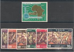 TOGO Année 1967 N° Y/T:  P.A. N° 75/80 Et 83** - Togo (1960-...)