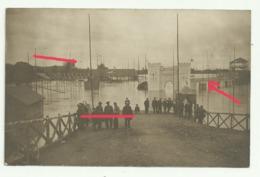 VICHY  Carte Photo  EXPOSITION INONDEE CRUE DE L'ALLIER 3 JUIN 1913 - Vichy