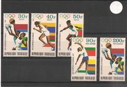 TOGO J.O. De Munich Année 1972 N° Y/T: 747/749** Et P.A. N° 82/83** - Togo (1960-...)