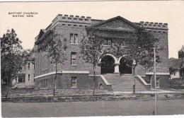 Nebraska Wayne Baptist Church 1917 - United States