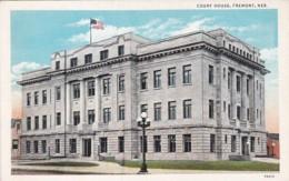Nebraska Fremont Court House Curteich - Fremont
