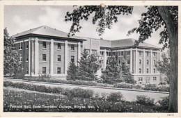 Nebraska Wayne Terrace Hall State Teachers College Curteich - United States