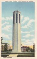 Nebraska Lincoln Ralph Mueller Carillon Tower University Of Nebraska Curteich - Lincoln