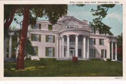 Nebraska Nebraska City State Park Arbor Lodge Curteich - United States