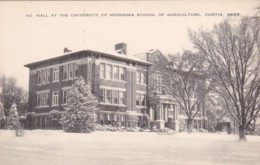 Nebraska Curtis Agricultural Hall At University Of Nebraska School Of Agriculture - United States