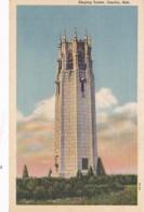 Nebraska Omaha Singing Tower Curteich - Omaha