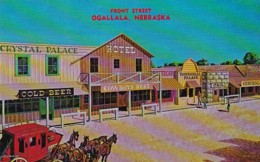 Nebraska Ogallala Front Street - United States