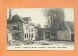 CPA  Souple - Montbines , Près Boury En Vexin -(Oise) - Ferme Actuelle Sur L'emplacement De L'ancienne Seigneurie - France