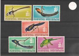 TOGO Oiseaux Année 1972 N° Y/T: 750/53** Et P.A. N° 184** - Togo (1960-...)