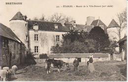 22.ETA - ETABLES- Manoir De La Ville-Durand - Etables-sur-Mer