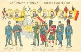 Eserciti E Comandanti Della Guerra Europea - War 1914-18