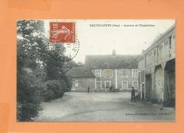 CPA  - Neuvillette -(Oise) - Intérieur De L'exploitation - France