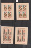 TOGO Blocs Croix Rouge Année 1959 N° Y/T: 1/3** Dentelés Et Non Dentelés - Togo (1960-...)