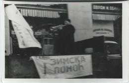 Serbia - Belgrade - Uzun Mirkova Street,shop Avram M. Abinun ( The Jew ).The Tramp Calls For Winter Help - Serbie