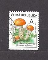 Czech Republic 2018 Gest ⊙ Mi 984 Mushrooms. The Orange Birch Bolete (Leccinum Versipelle/rufescens). C2 - Used Stamps