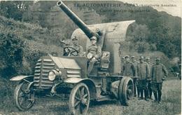 Le Autobatterie SPA Carro Pezzo In Marcia - Soc. Ligure-Piemontese Automobili - Guerra 1914-18