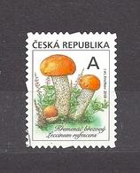 Czech Republic 2018 Gest ⊙ Mi 984 Mushrooms. The Orange Birch Bolete (Leccinum Versipelle/rufescens). C3 - Used Stamps