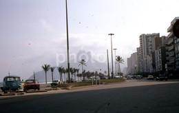 1980 VW VOLKSWAGEN BRASILIA COMBI RIO DE JANEIRO BRASIL BRAZIL AMATEUR 35mm DIAPOSITIVE SLIDE Not PHOTO No FOTO B3295 - Diapositives