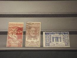 ITALIA REGNO - 1923 MARCIA SU ROMA  6 VALORI - TIMBRATI/USED - 1900-44 Vittorio Emanuele III