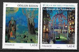 France 2011 N° 4533 - 4542  Neufs Série Artistique à La Faciale - France