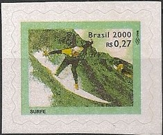 BRAZIL - DEFINITIVES SPORTS: SURF 2000 - MNH - Stamps