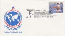 OLYMPIC CHAMPION RAY EWRY USA 1990 ATHLETICS Goodwill Games - Figure Skating Station - Athletics