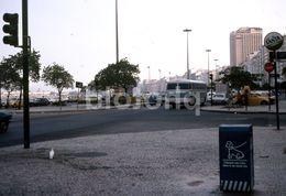 1980 VW VOLKSWAGEN BEETLE ONIBUS BUS RIO DE JANEIRO BRASIL BRAZIL AMATEUR 35mm DIAPOSITIVE SLIDE Not PHOTO No FOTO B3296 - Diapositives