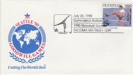 OLYMPIC CHAMPION RAY EWRY USA 1990 ATHLETICS Goodwill Games - Gymnastic Station - Athletics