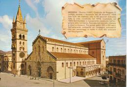 MESSINA -DUOMO E CAMPANILE - Messina