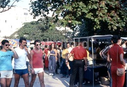 1980 STREET SCENE RIO DE JANEIRO BRASIL BRAZIL AMATEUR 35mm DIAPOSITIVE SLIDE Not PHOTO No FOTO B3300 - Diapositives
