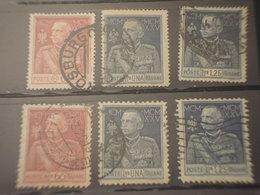 ITALIA REGNO - 1925/6 GIUBILEO 3 + 3 Valori - TIMBRATI/USED - 1900-44 Vittorio Emanuele III