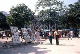 1980 STREET SCENE RIO DE JANEIRO BRASIL BRAZIL AMATEUR 35mm DIAPOSITIVE SLIDE Not PHOTO No FOTO B3301 - Diapositives