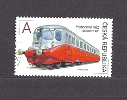 Czech Republic 2018 Gest ⊙ Mi 995 The World On The Rails II - The Silver Arrow. Eisenbahn. - Used Stamps