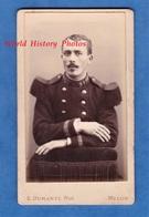 Photo CDV Vers 1895 - MELUN - Portrait Militaire Du 31e Régiment - Voir Uniforme - Photographe S. Duranty - Photos