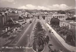MESSINA - VIA F. CANNIZZARO - ANIMATA CON AUTO D'EPOCA CAR VOITURE - Messina