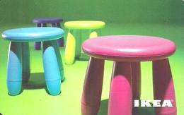 IKEA * FURNITURE STORE * SWEDEN * SWEDISH * CHILDREN CHAIR * STOOL * Ikea 2009 09 Fr C2 * France - Cartes Cadeaux
