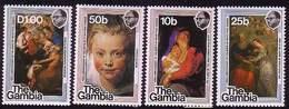 Gambia 1977 Mi 362 - 365 400 Anniversar Of Bird Rubens Art Paintingl Mint  MNH** W869 - Gambie (1965-...)