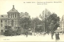PARIS 17  -- Bd Des Batignolles, Métropolitain, Station De Rome                                    -- Cadot 39 - Arrondissement: 17